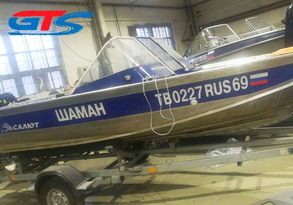 Лодка Салют 510